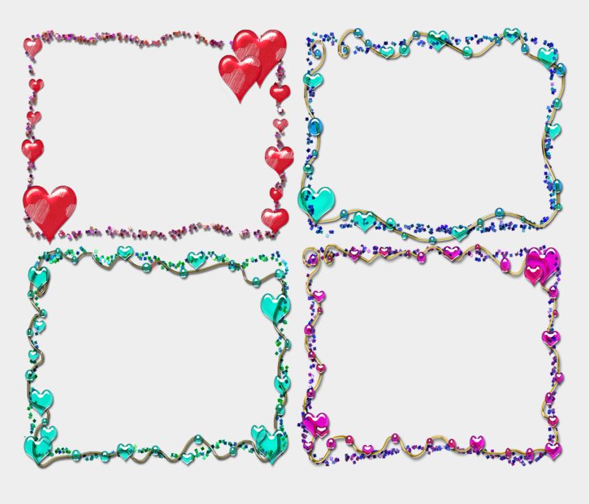 frames clipart, Cartoons - Lefkoi Lykoi Border Glitter Frames Clipart Png Transparent - Border Designs With Glitters