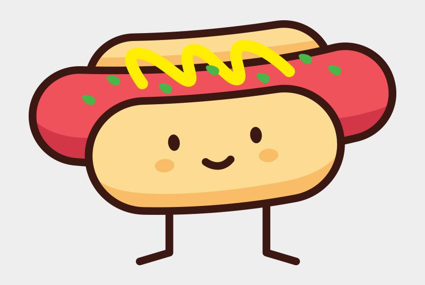 hot dog clip art, Cartoons - Hot Dog Doodle - Doodle Hot Dog
