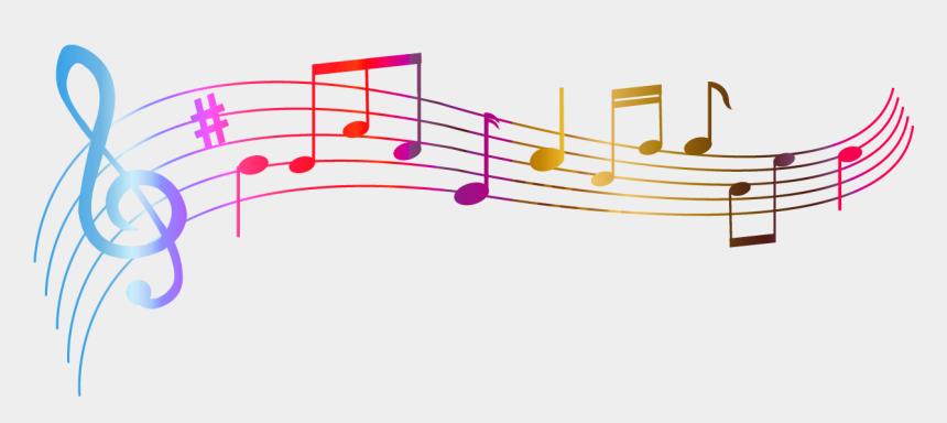 musical notes clip art, Cartoons - Transparent Colorful Notes Png Clipart - Colorful Music Notes Transparent Background