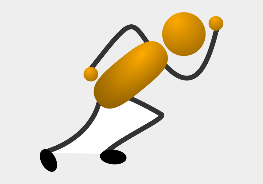 stick figure clipart, Cartoons - Download - Stick Figure Running Png