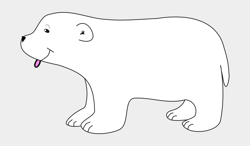 polar bear clip art, Cartoons - Polar Bear