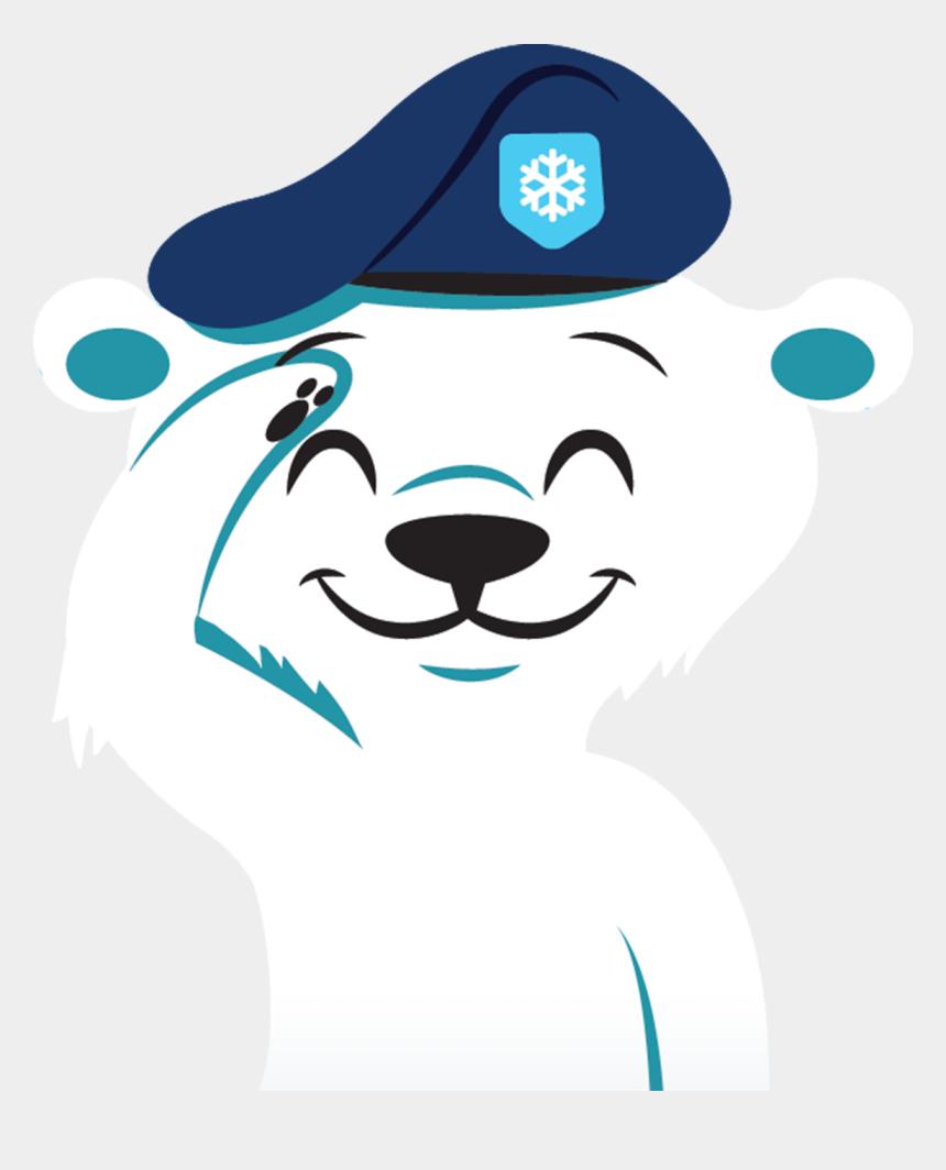 polar bear clip art, Cartoons - Arctic Clipart Polar Climate - Polar Bear Army