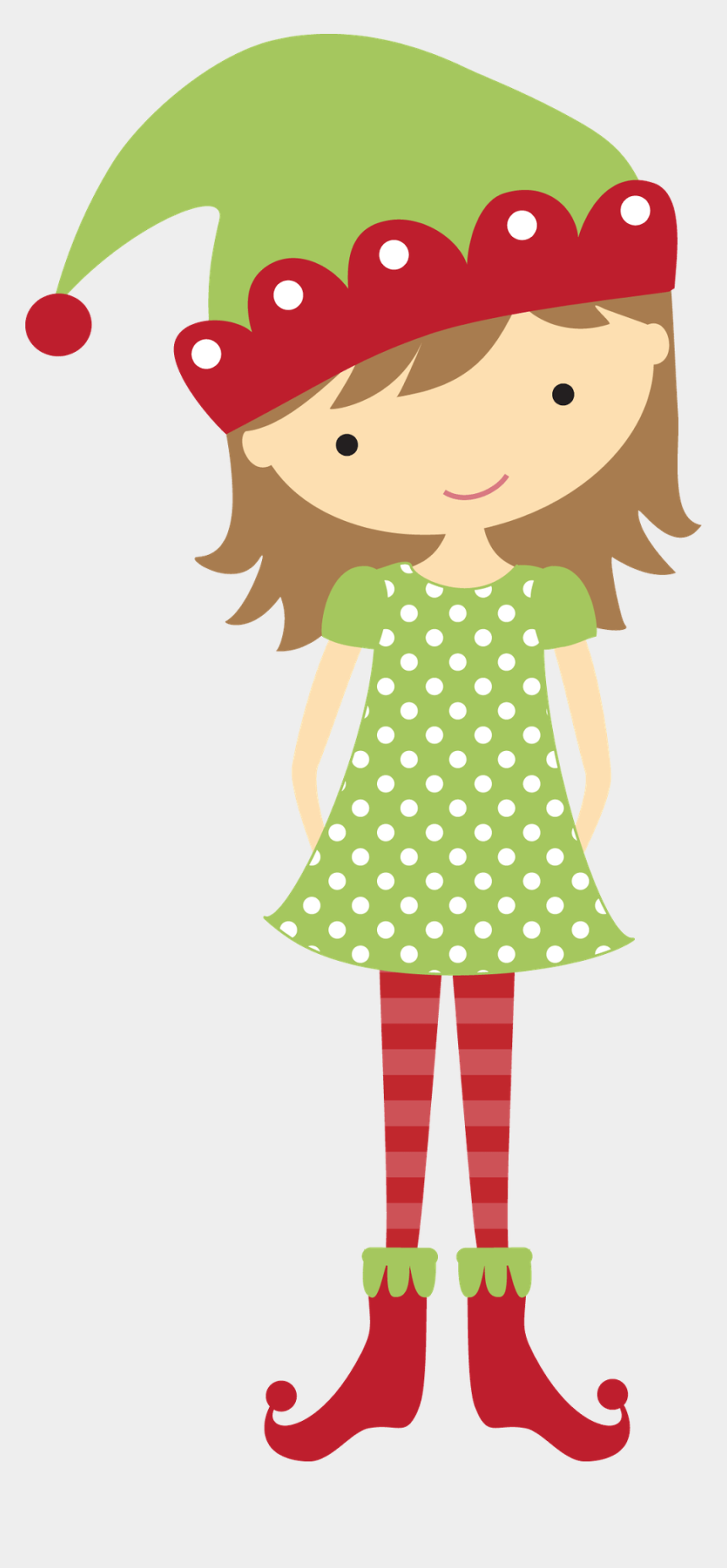elf clip art, Cartoons - Following My Dreams Christmas Girl - Girl Christmas Elf Clip Art