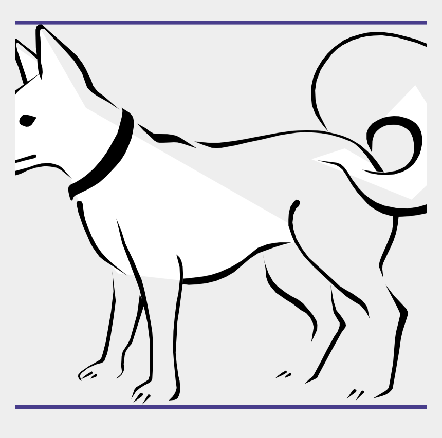 dog bone clip art, Cartoons - Clip Art Coloring Pages - Line Drawing Of Animals