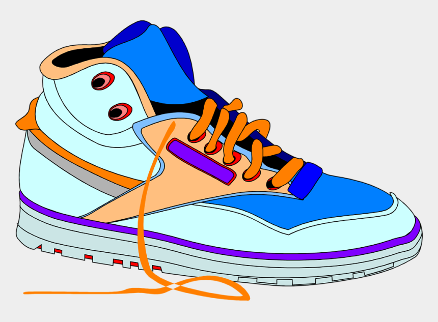 shoes clip art, Cartoons - Clipart Of Shoes, Tennis And Shoe - Sneakers