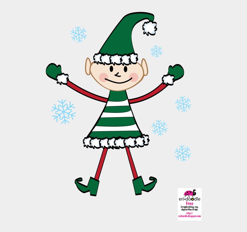 elf clip art, Cartoons - Christmas Present Border Clipart - Christmas Day
