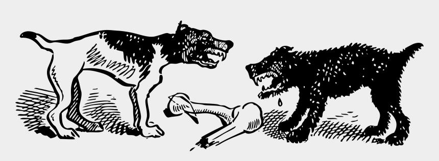 dog bone clip art, Cartoons - Vector Bone Cartoon - غادرت الكلاب عندما شبعت حتما ستعود عندما تجوع
