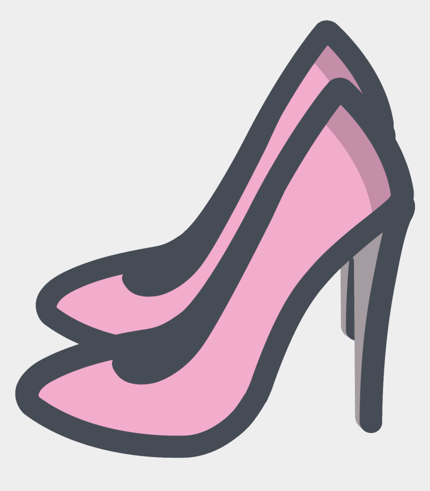 Women Shoes Clipart Pink Shoe , Female Shoes Icon Png