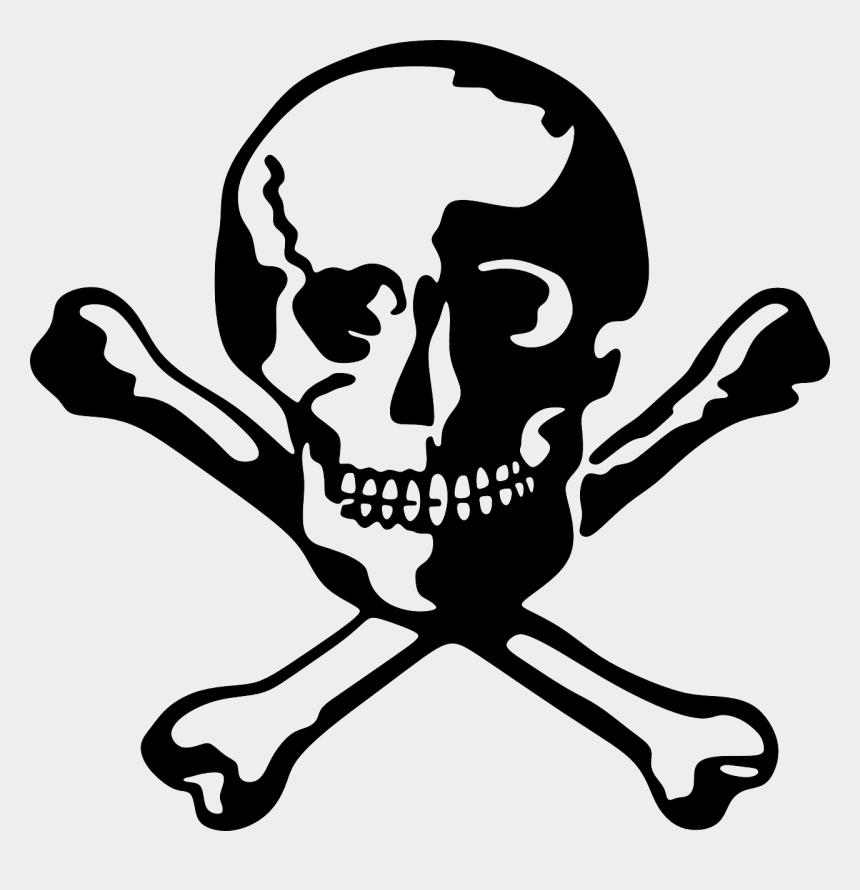bone clip art, Cartoons - Bones Free Vector Graphic On Pixabay Dead - Skull Dead
