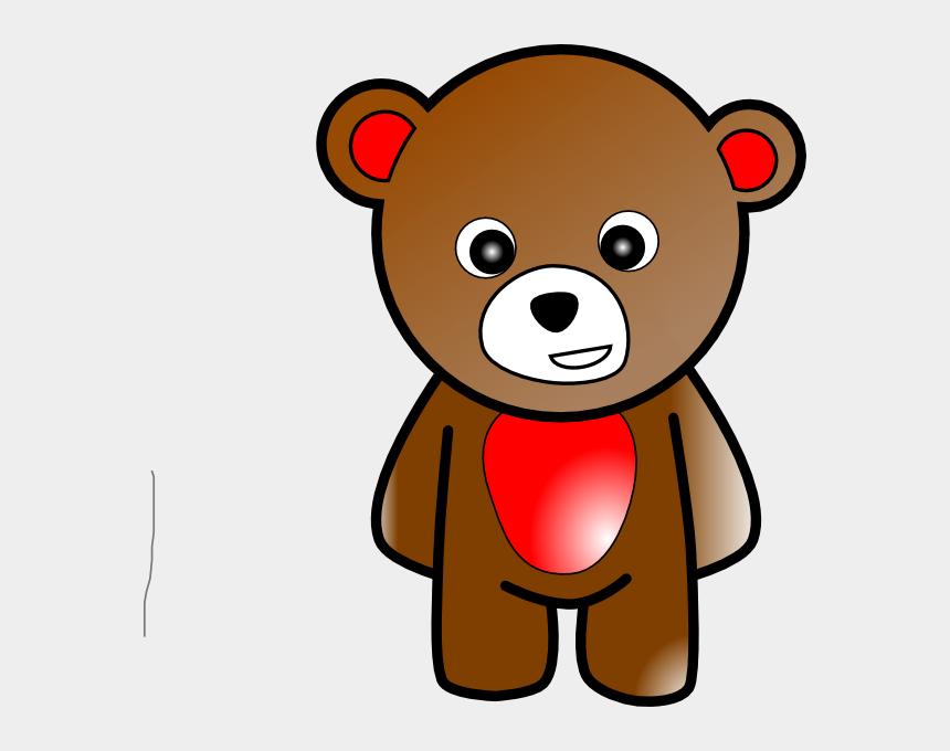 polar bear clip art, Cartoons - Bear 2 Clip Art - Teddy Bear Cartoon Standing