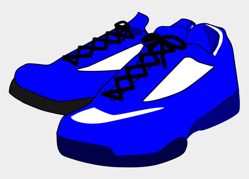 shoes clip art, Cartoons - Sneaker Clipart Sport Shoe - Blue Shoes Clipart
