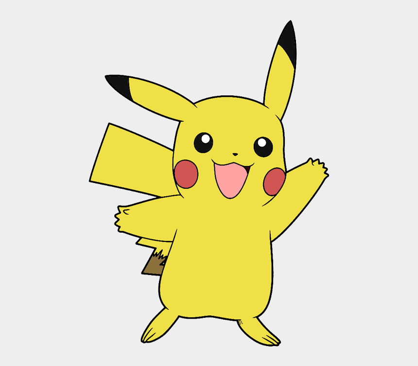 pokemon clip art, Cartoons - Covered Clipart Pokemon Yellow - Pikachu Png