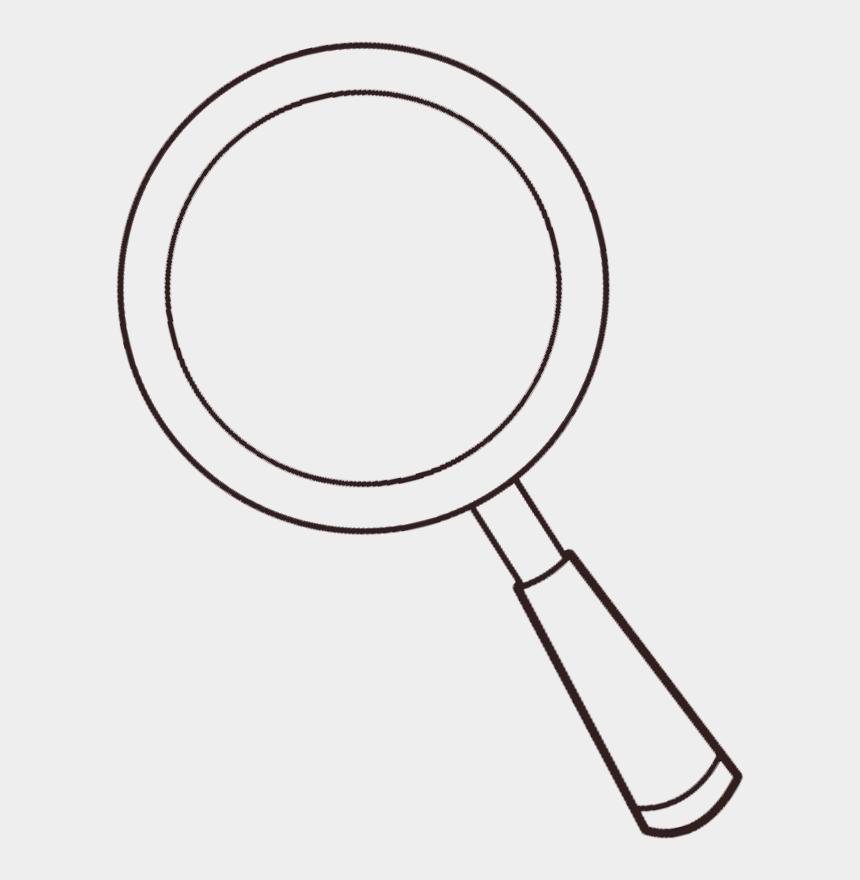 glass clipart, Cartoons - Transparent Magnifying Glass Clipart