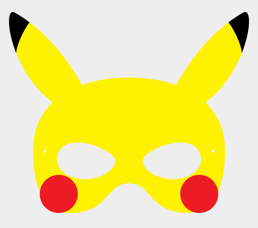 pokemon clip art, Cartoons - Pokemon Clipart Mask - Mascaras De Pokemon Para Imprimir