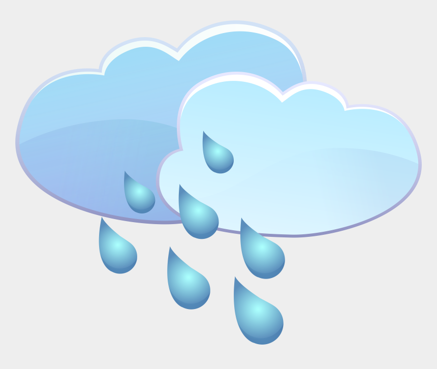 rain clip art, Cartoons - Clouds And Rain Drops Weather Icon Png Clip Art