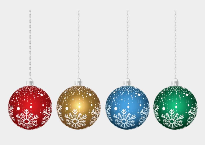 ornaments clipart, Cartoons - Christmas Hanging Ornaments Transparent Png - Christmas Hanging Decorations Png