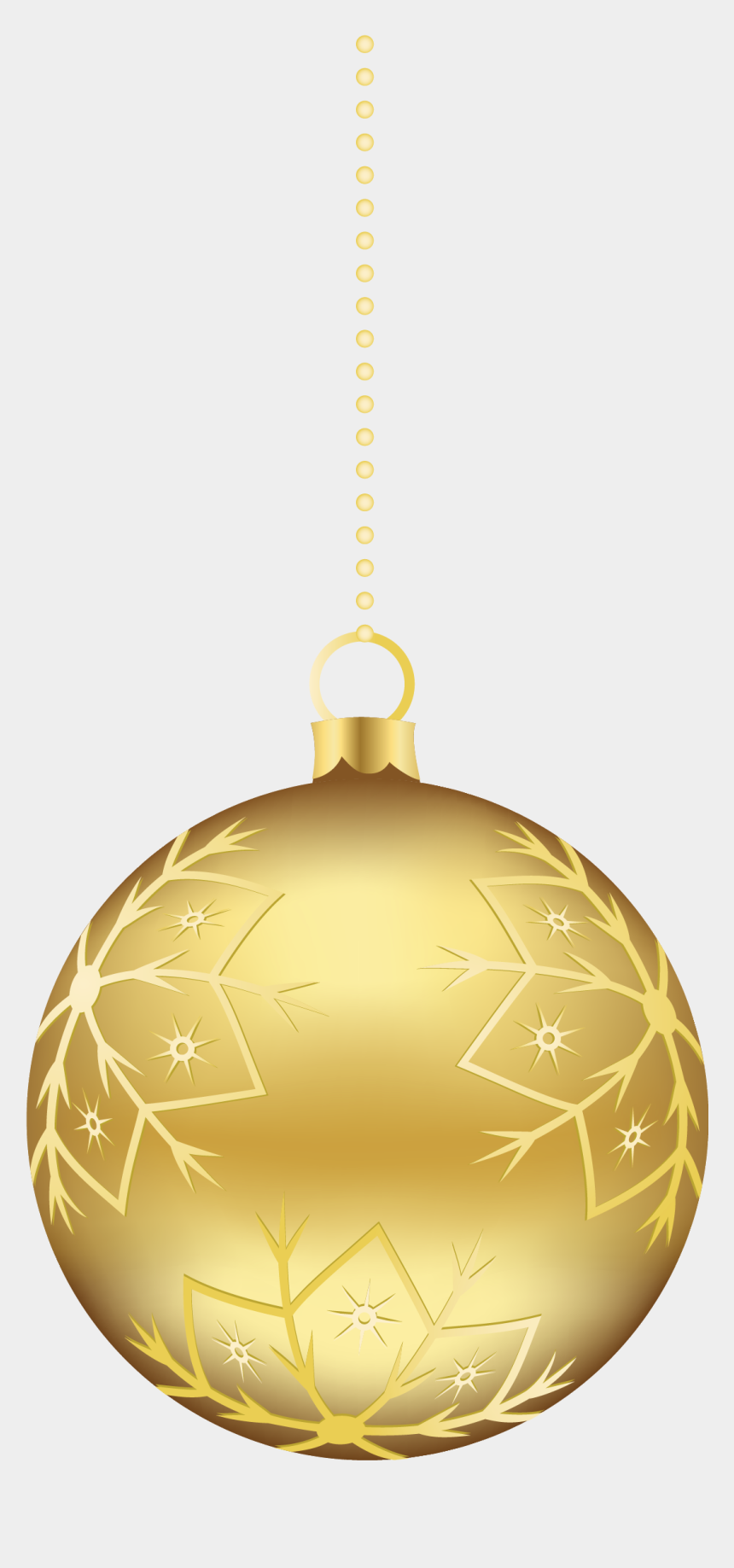 ornaments clipart, Cartoons - Free Icons Png - Gold Christmas Ornament Png