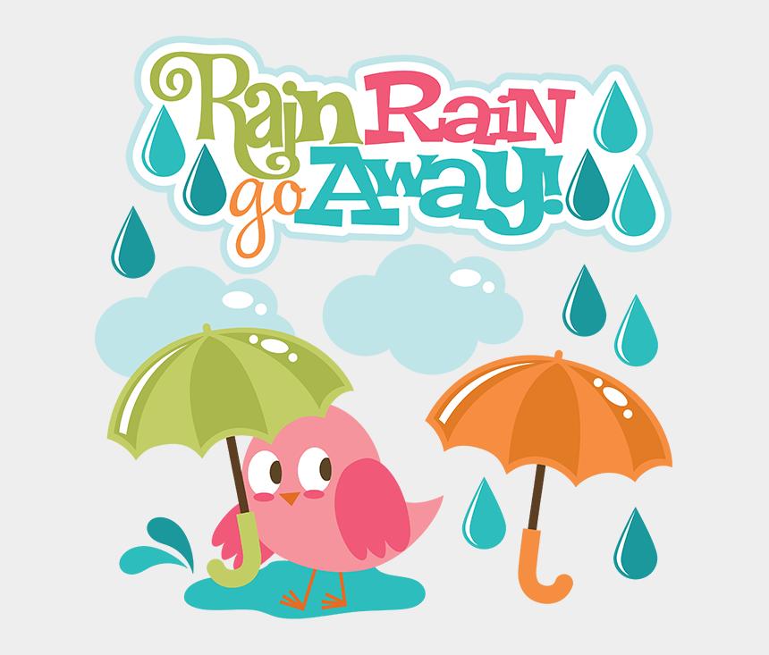 rain clip art, Cartoons - Raining Clipart Percipitation - Rain Rain Go Away