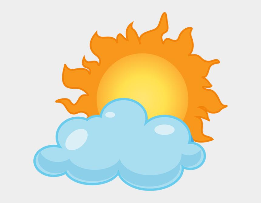 rain clip art, Cartoons - Clip Art Partly Sunny Rainy Clipart Kid - Partly Cloudy Clipart