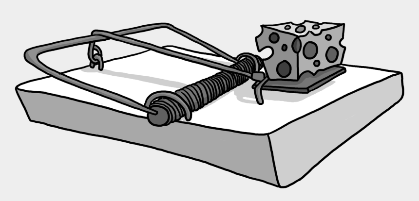 rat clip art, Cartoons - Vector Trap Mouse - Mouse Trap Clip Art