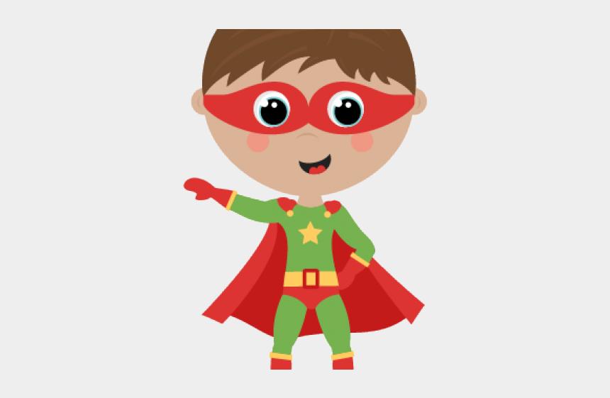 superhero clip art, Cartoons - Super Hero Boy Clipart