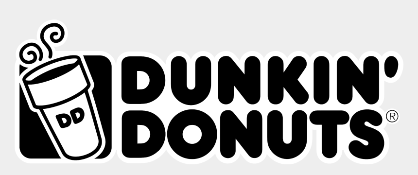 donuts clipart, Cartoons - Dunkin Donuts Clipart Svg - Dunkin Donuts White Logo