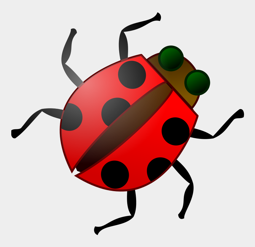 ladybug clip art, Cartoons - Cartoon Ladybug Svg Clip Arts 600 X 572 Px - Bug Clip Art