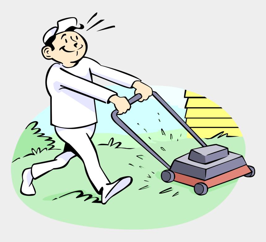 lawn service clipart, Cartoons - Lawn Care Clipart Yard Maintenance - Mowing Lawn Clip Art