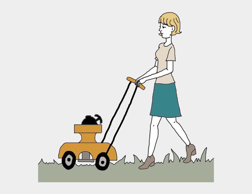 lawn service clipart, Cartoons - Lawn Clipart Short Grass - Lawn Mower Colour Faces Cliparts