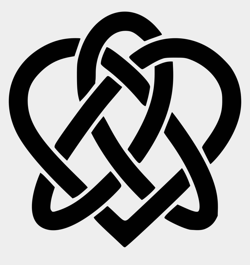christian symbols clipart, Cartoons - Celtic Heart Svg