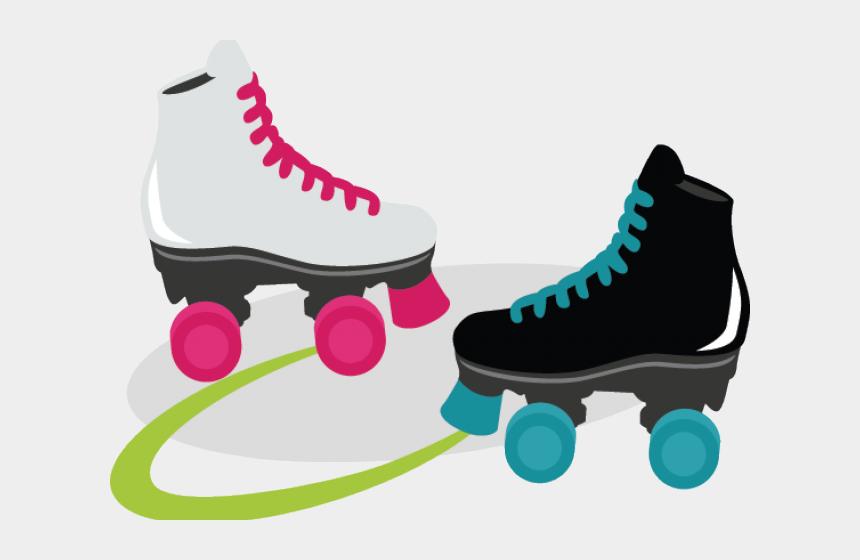 roller skating clipart, Cartoons - Roller Skating