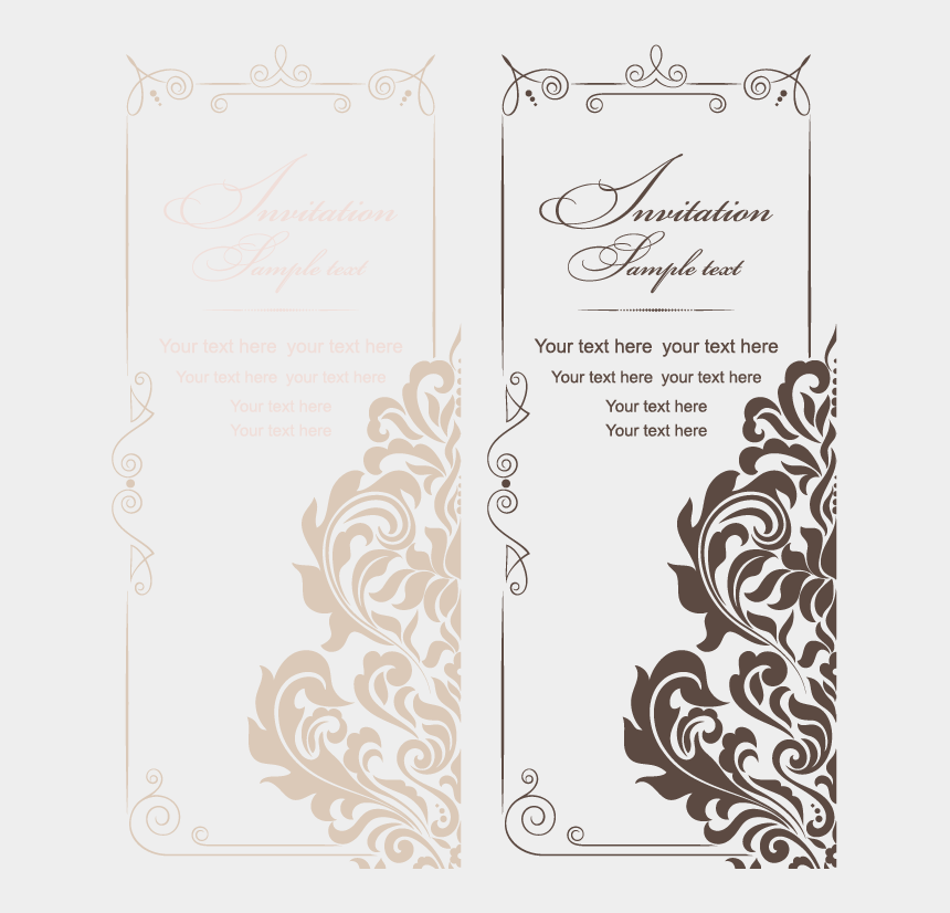 wedding invite clipart, Cartoons - And Style Vintage Wedding Invitations American Vector - Vector Pattern For Wedding Invitation