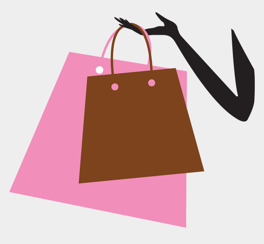 girls night out clipart, Cartoons - Spring Is Back, And So Is Ladies Night Out - Shopping Bags