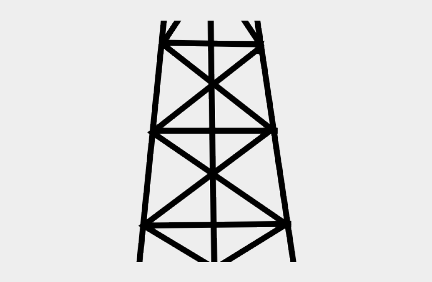 oil derrick clipart, Cartoons - Oil Rig Clipart Outline - Oil Rig Clipart Png