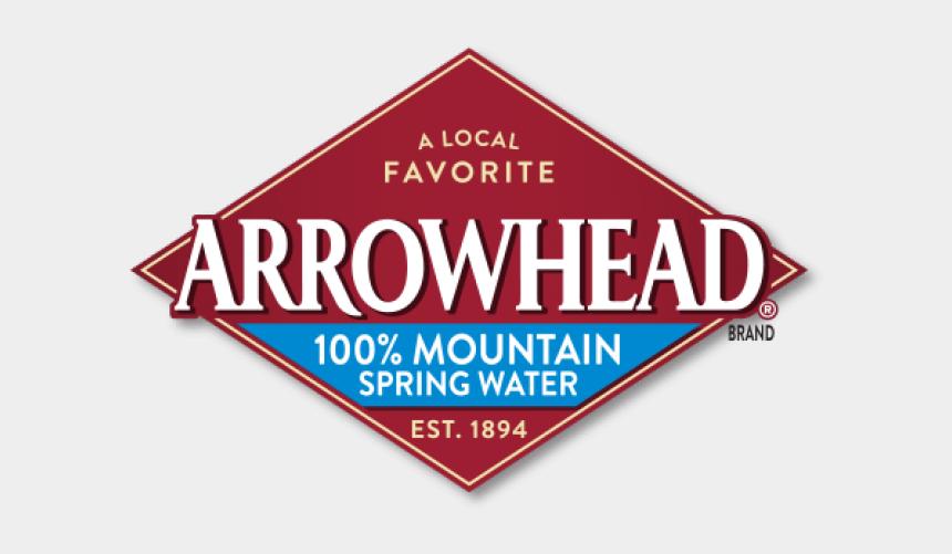 arrow head clipart, Cartoons - Arrowhead Sparkling Water Logo