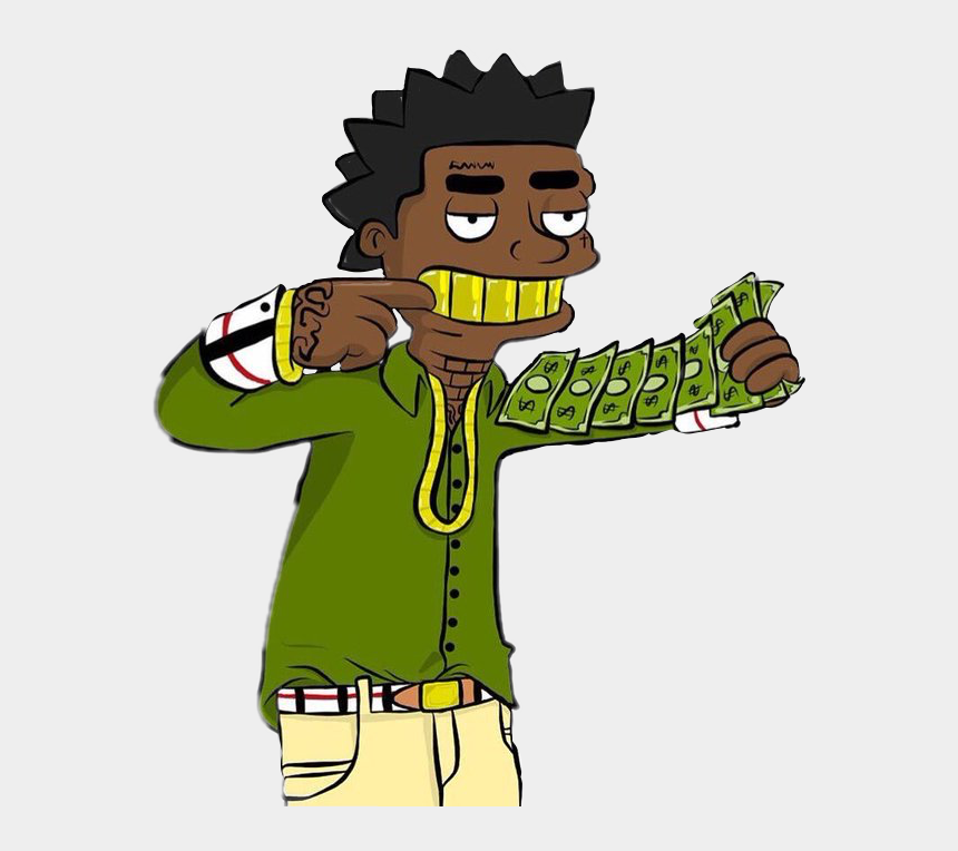 rapper clipart, Cartoons - Cash Kodak Kodakblack Rap Trapmusic Rapper Hiphop Carto - Tbh Kodak Black Cartoon
