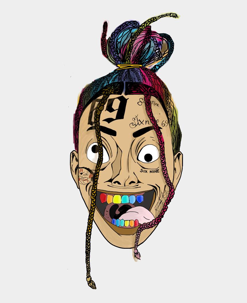 6ix9ine color 69 creepy crazy savage gucci gang , Six