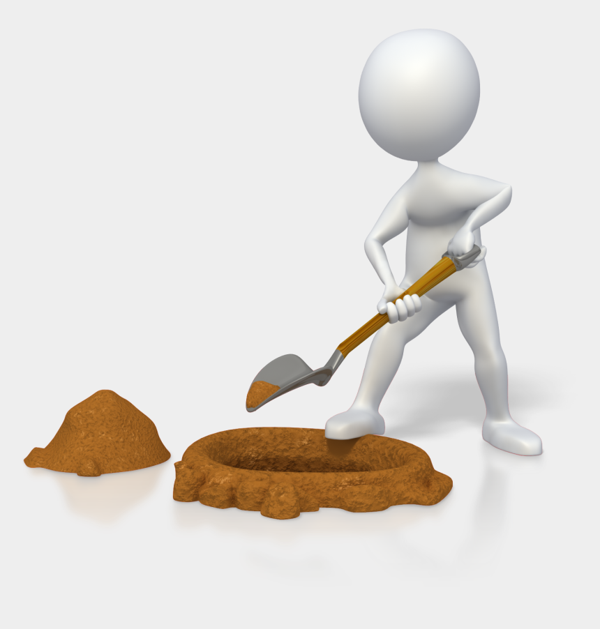 coaching clipart, Cartoons - Finding The Right Life Coaching Services For Your Business - Digging A Hole