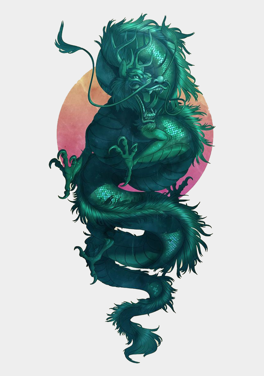 baboon clipart, Cartoons - Pattern Jade Green Illustration Dragon Free Hq Image - Chinese Dragon