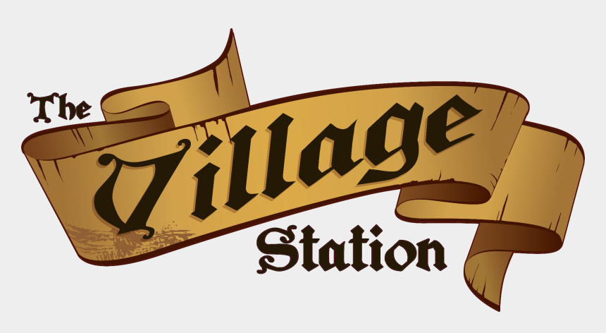 gas station building clipart, Cartoons - Copyright © 2019 Village Station, All Rights Reserved - Calligraphy