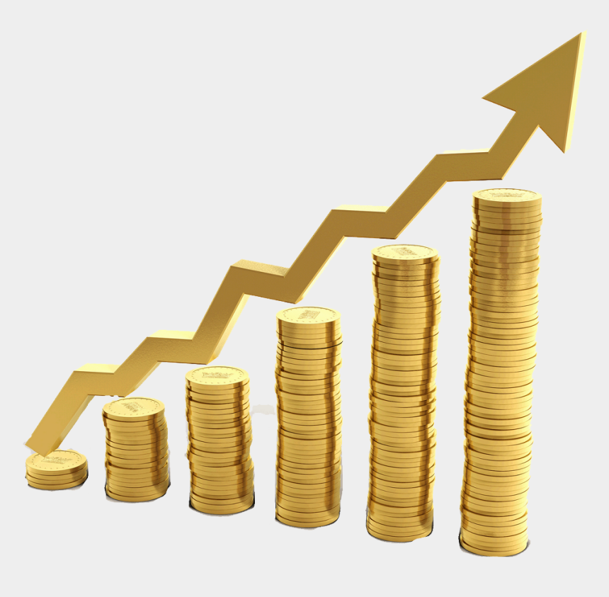 investment clipart, Cartoons - Investing - Increasing Stack Of Coins
