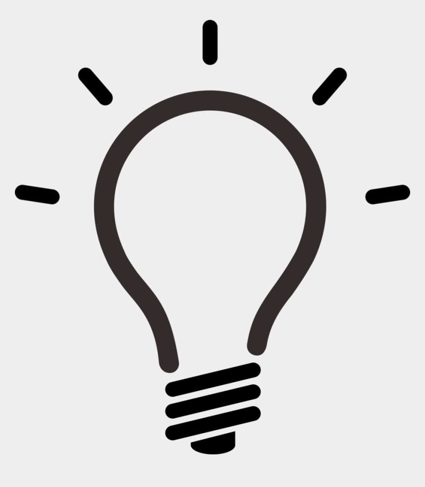 innovation clipart, Cartoons - Management Transcription Innovation Creativity Others - Lightbulb Icon Minimalistic Transparent