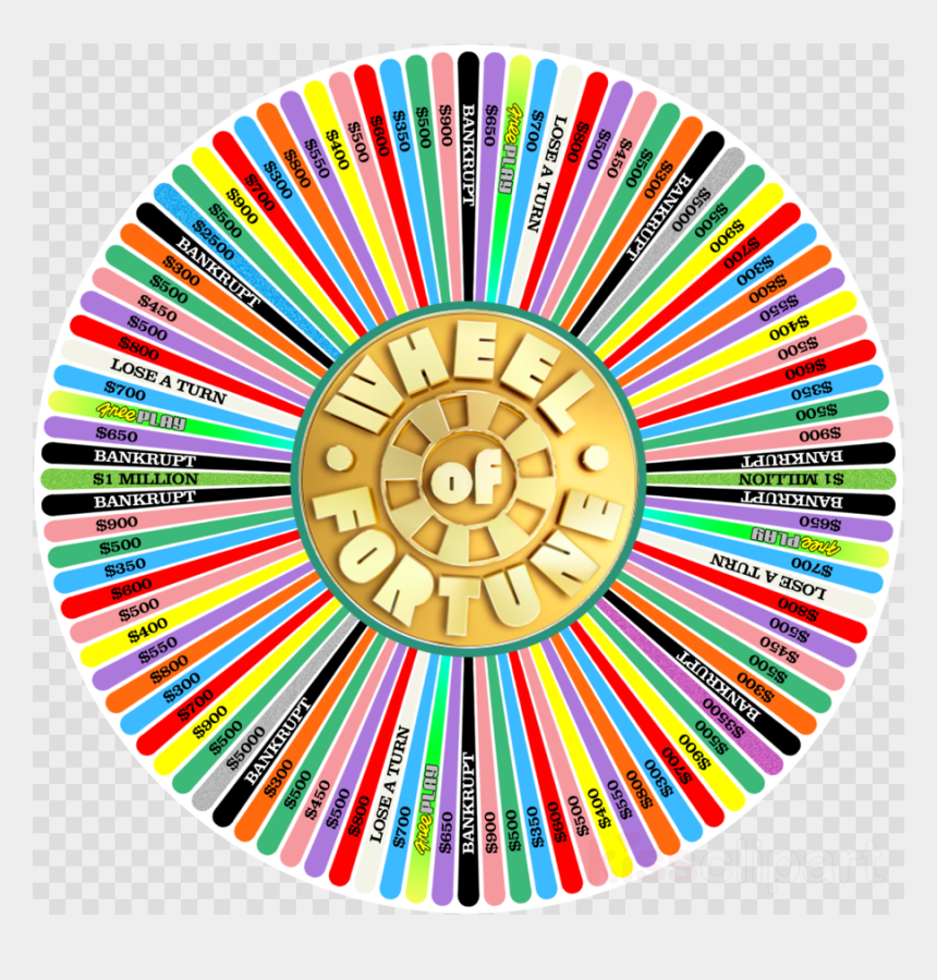cooler clipart, Cartoons - Game, Wheel, Television, Transparent Png Image & Clipart - Wheel Of Fortune Wheel Homemade