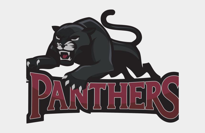 panthers clipart, Cartoons - Black Panther Clipart Team Logo - Lion High School Logos