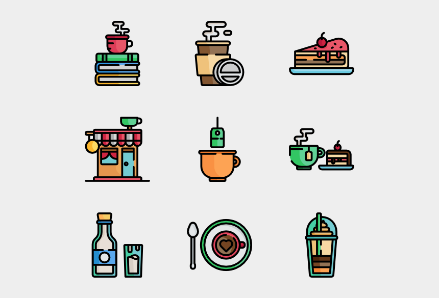 paper coffee cup clipart, Cartoons - Coffee Icons Free Vector Shop Ⓒ