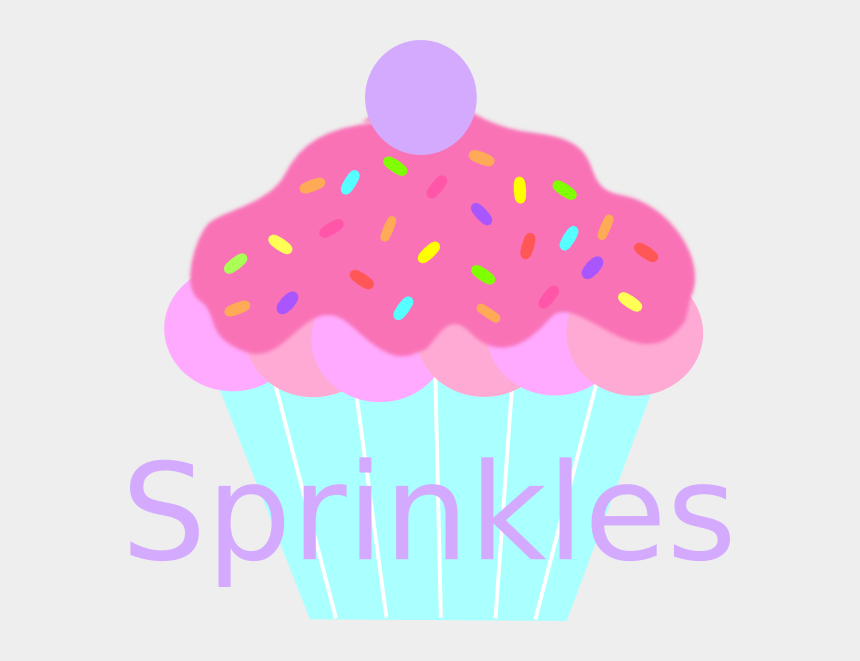cupcakes with sprinkles clipart, Cartoons - Sprinkles Clip Art At Clker