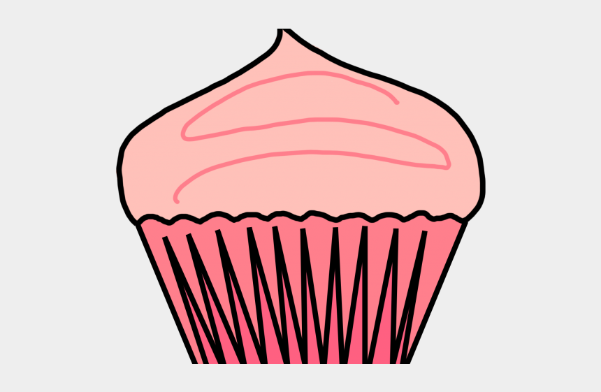 cupcakes with sprinkles clipart, Cartoons - Vanilla Cupcake Clipart Big Cupcake - Cupcakes Png
