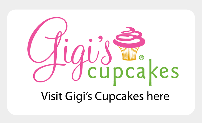 cupcakes with sprinkles clipart, Cartoons - Signup For Email Updates - Gigi's Cupcakes Logo Png