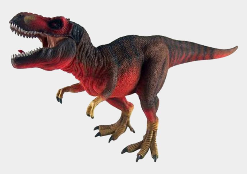 tyrannosaurus rex clipart, Cartoons - Red Tyrannosaurus Rex With Movable Jaw - Tyrannosaurus