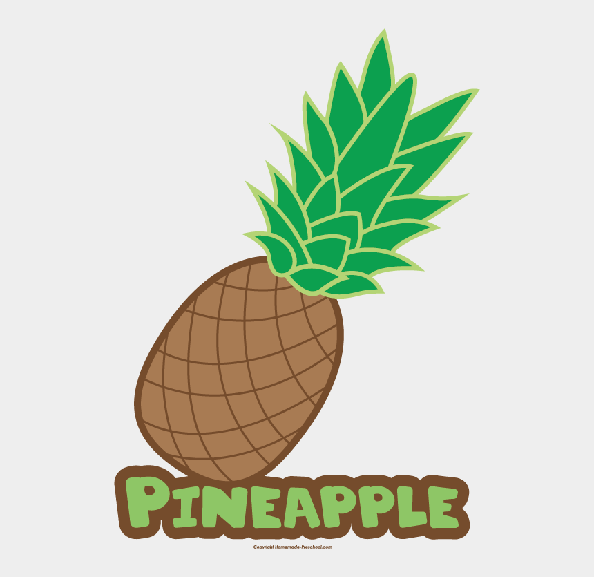 pineapples clipart, Cartoons - Pineapple Clipart Name - Pineapple With Name